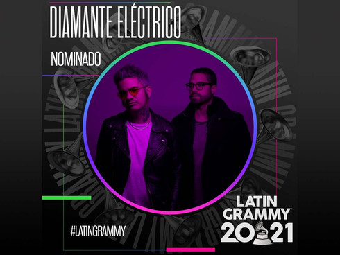 DIAMANTE ELECTRICO is nominated for 4 GRAMMY Awards
