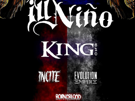 """ILL NIÑO set to bring dose of Latin metal to Texas on This Summer's """"Ill Texas Familia"""" Tour"""