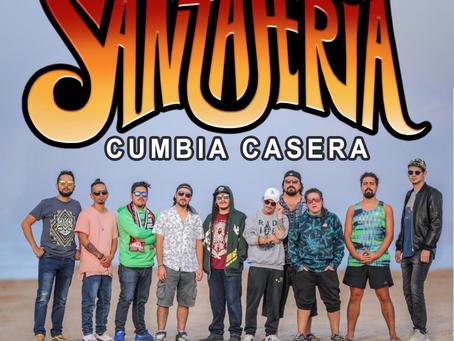 "SANTAFERIA talks to us about their new album ""CUMBIA CASERA"" (Interview)"