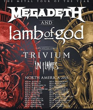 MEGADETH & LAMB OF GOD: The metal tour of the year is coming for you!