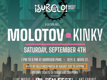 MOLOTOV and KINKY come to Chicago for PILSEN FEST