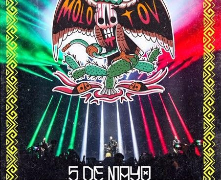 MOLOTOV virtual concert on 5 de Mayo - get your gear with HIP MERCH