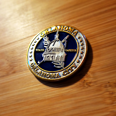 Oklahoma State Capitol Collector's Coin