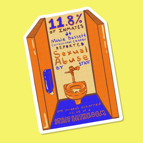 Staff Bathroom Sticker