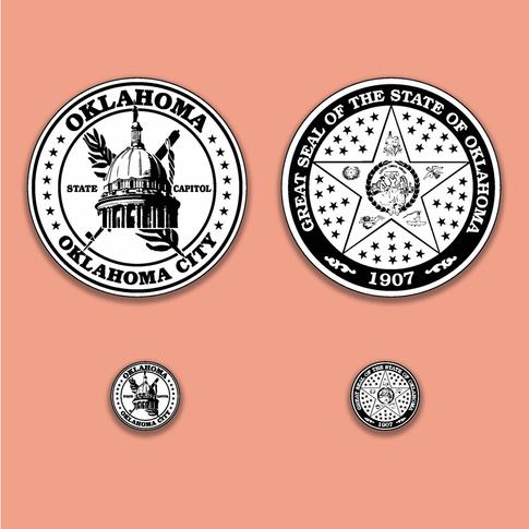 Oklahoma State Capitol Collector's Coin Concept