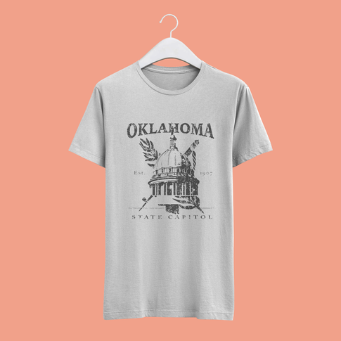Oklahoma State Capitol T-Shirt