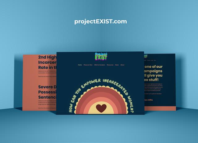 projectEXIST Website