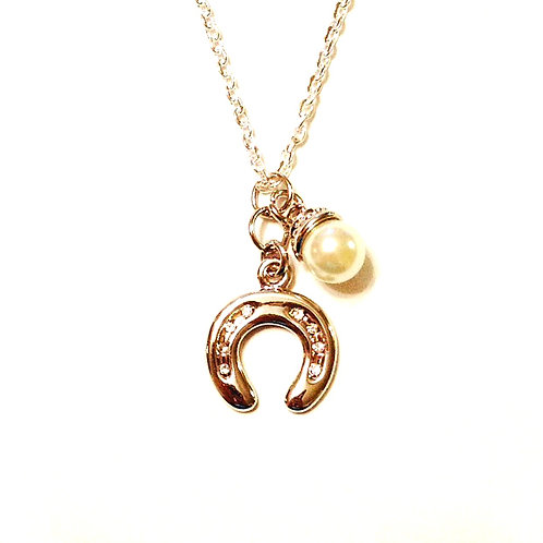 For the Equestrian Necklace