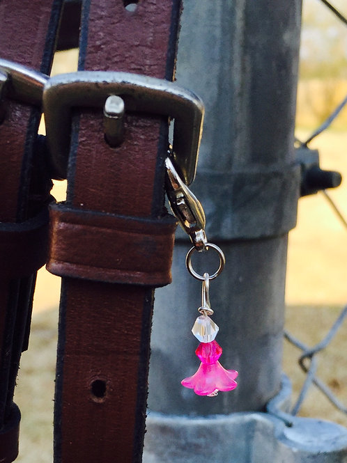 Flower Bell Bridle Charm
