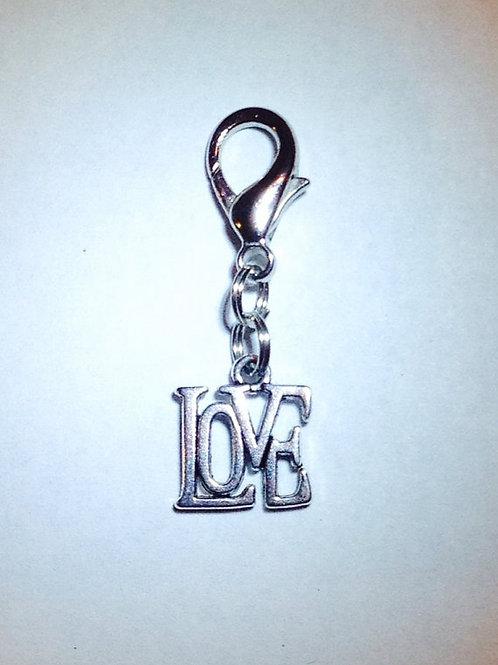 Love Monogram Bridle Charm