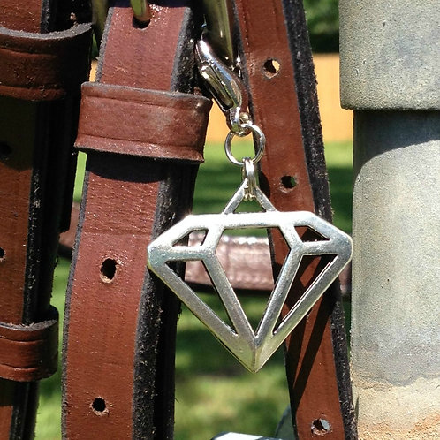 Art Deco Diamond Bridle Charm