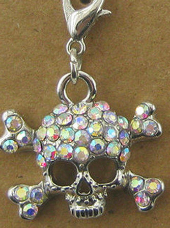 Crystal Skull Bridle Charm