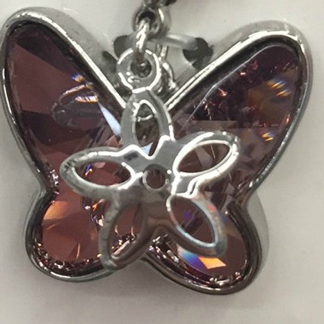Swarovski Butterfly Bridle Charm