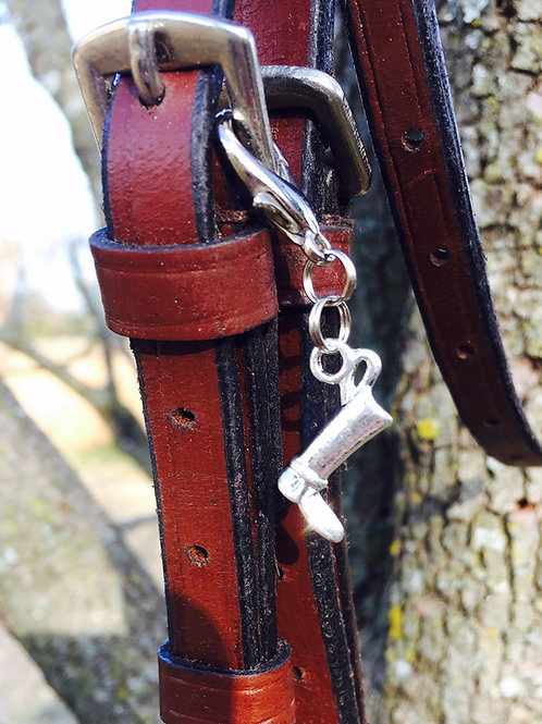 English Boot Bridle Charm