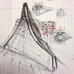 Instagram - Late night #findings #architecture #sketch #idea #design #concept #c
