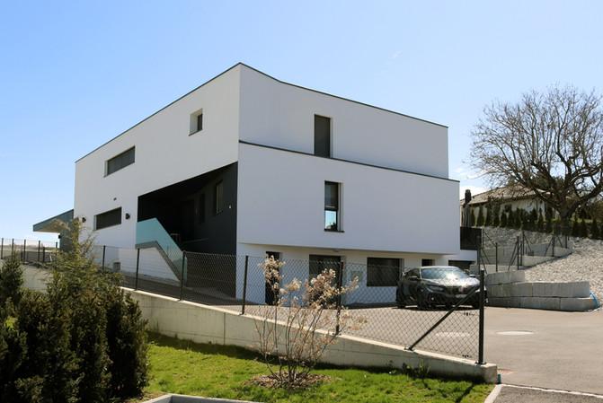 Construction d'une villa individuelle à Ponthaux