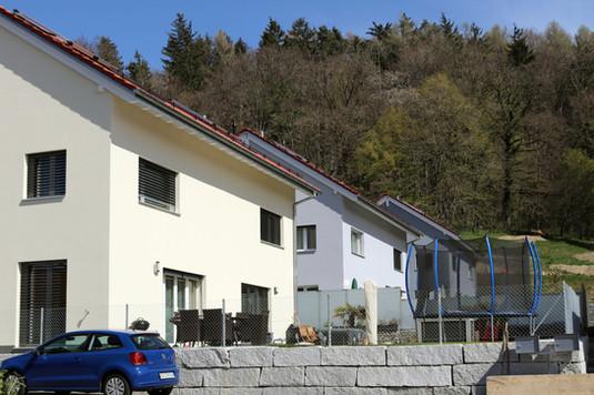 Construction de 8 villas à Henniez