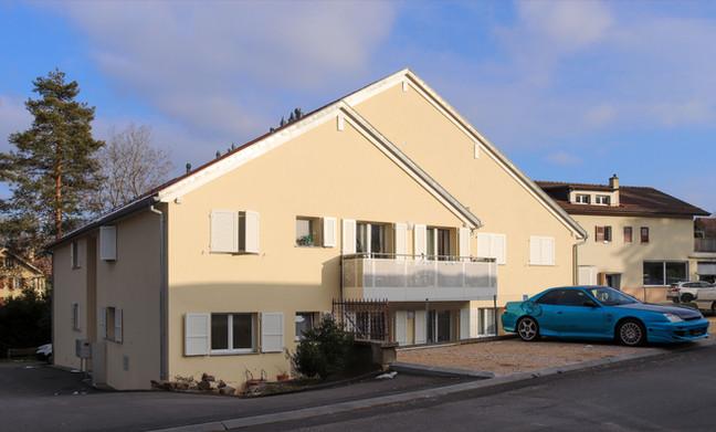 Immeuble de 6 appartements locatifs à Montpreveyres