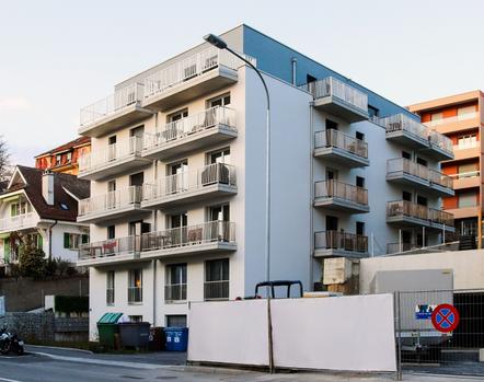Immeuble de 30 appartements à Lausanne