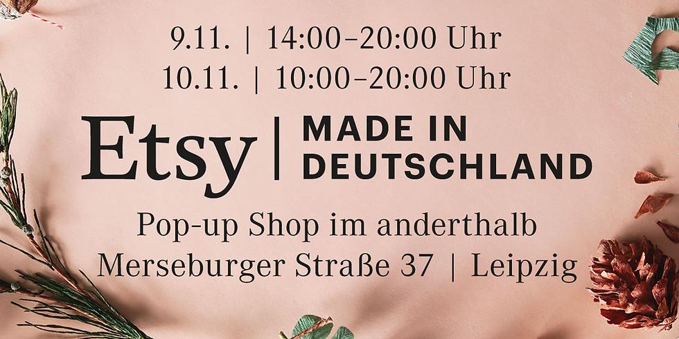 Etsy Team Leipzig lädt zum Pop-up Shop