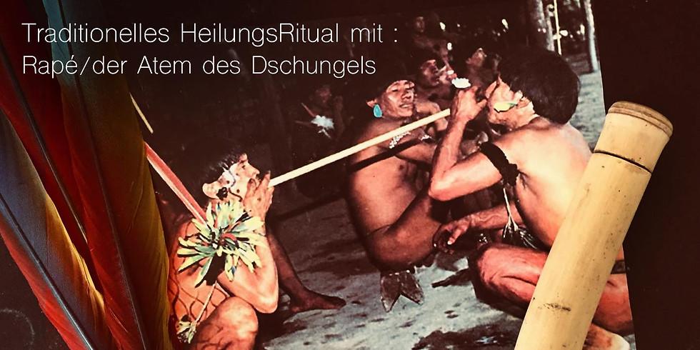 Traditionelles HeilungsRitual mit Rapé / der Atem des Dschungels