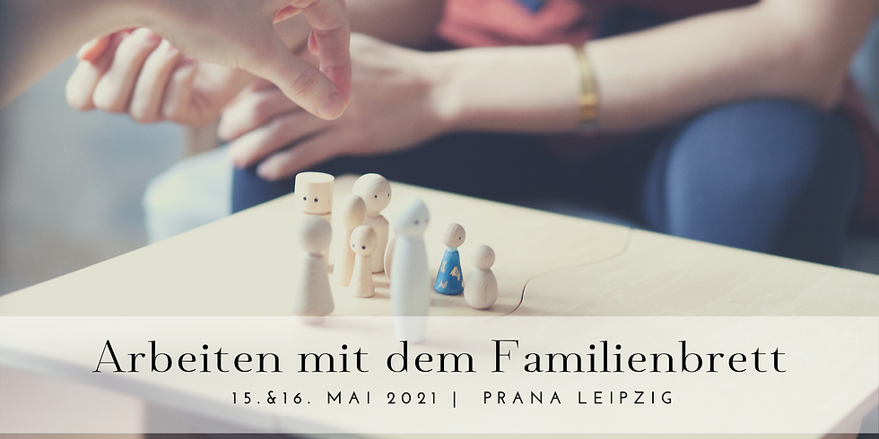 Arbeiten mit dem Familienbrett
