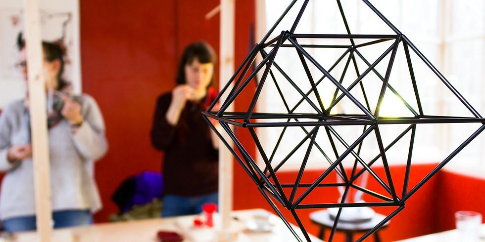Himmeli- Workshop mit Sara von Practicalities