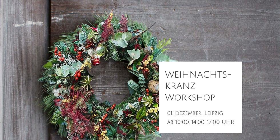 Luxus-Weihnachtskranz-Workshop mit Intaeger Floral Design Studio
