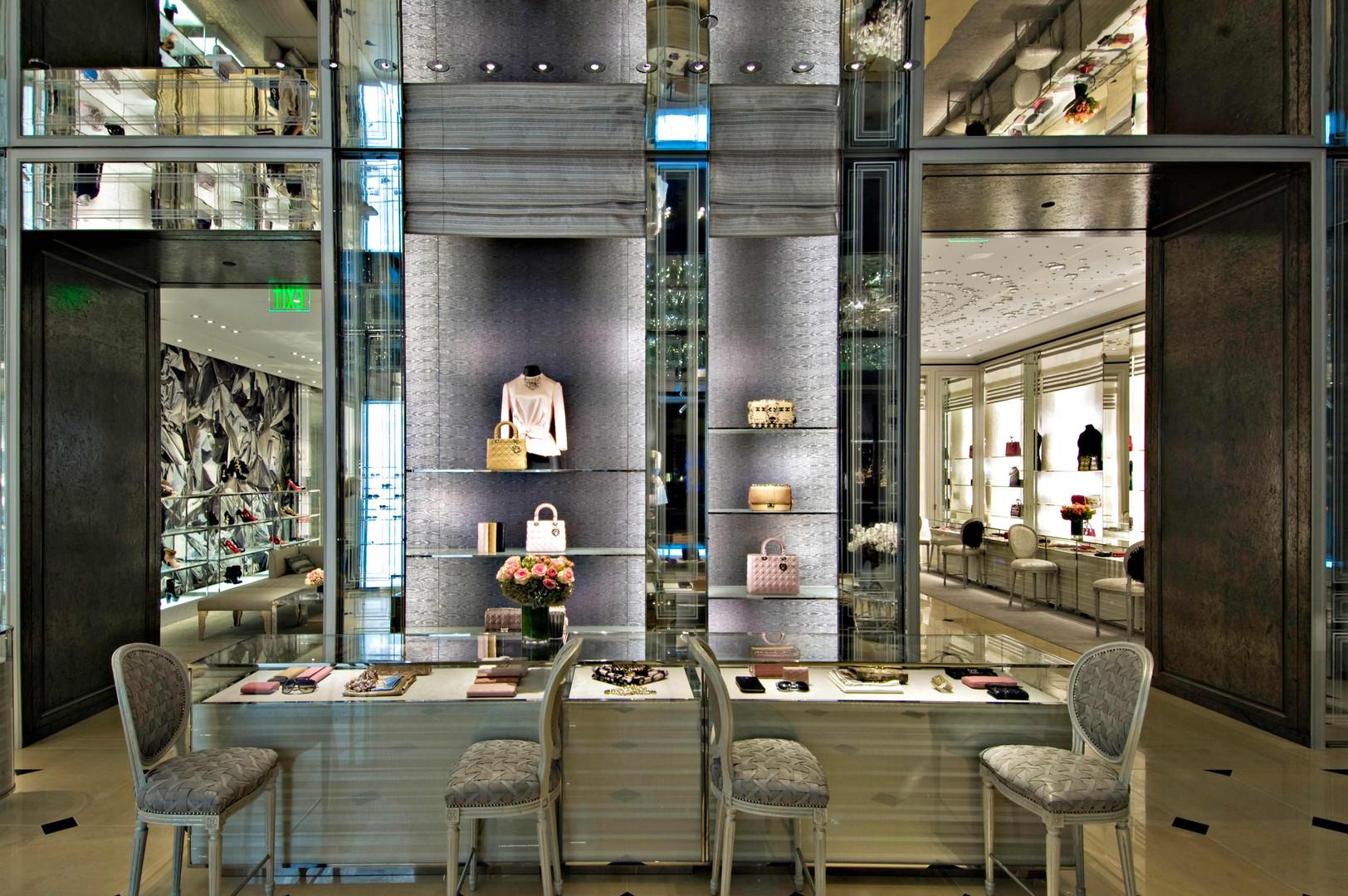 Dior Handbag Showroom Beverly Hills