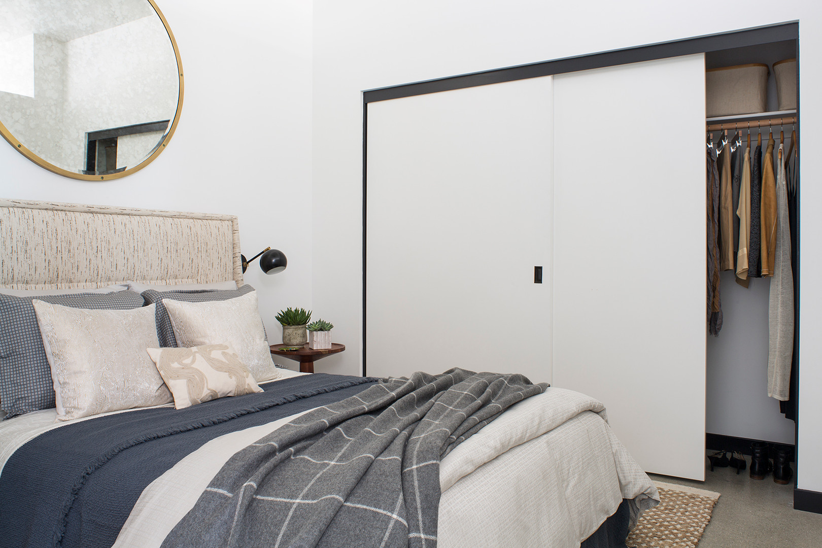 Serene Modern Bedroom by Kelly Wearstler