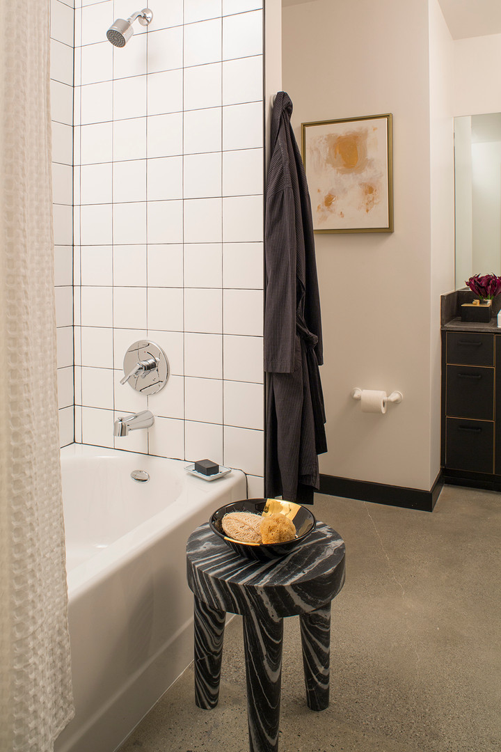 Modern Industrial Bathroom Design