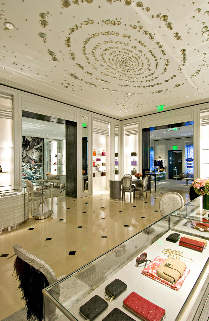 Christian Dior Jewelry Showroom Beverly Hills