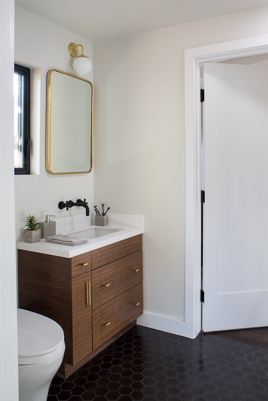 Kelly-Martin-Interiors-Bathroom-Remodel-Walnut Cabinet