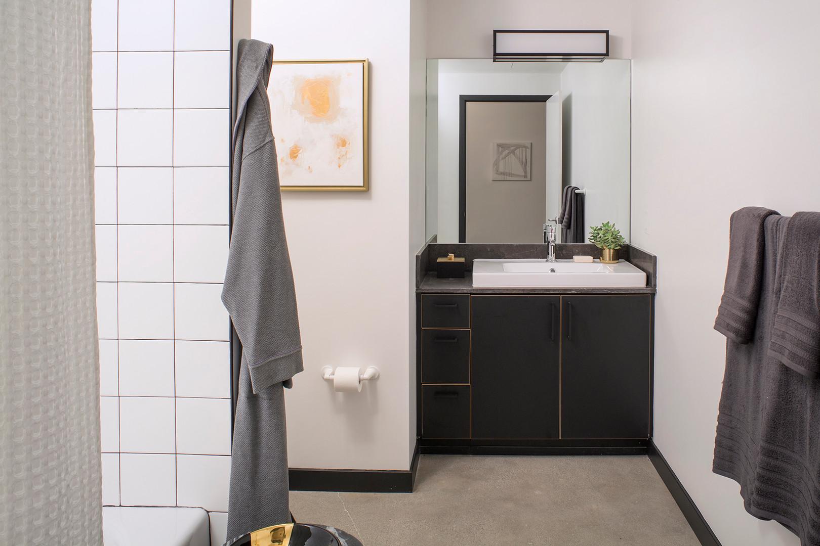 Edison Long Beach Industrial Bathroom