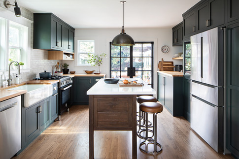 Kelly-Martin-Interiors-weho-green-modern-kitchen