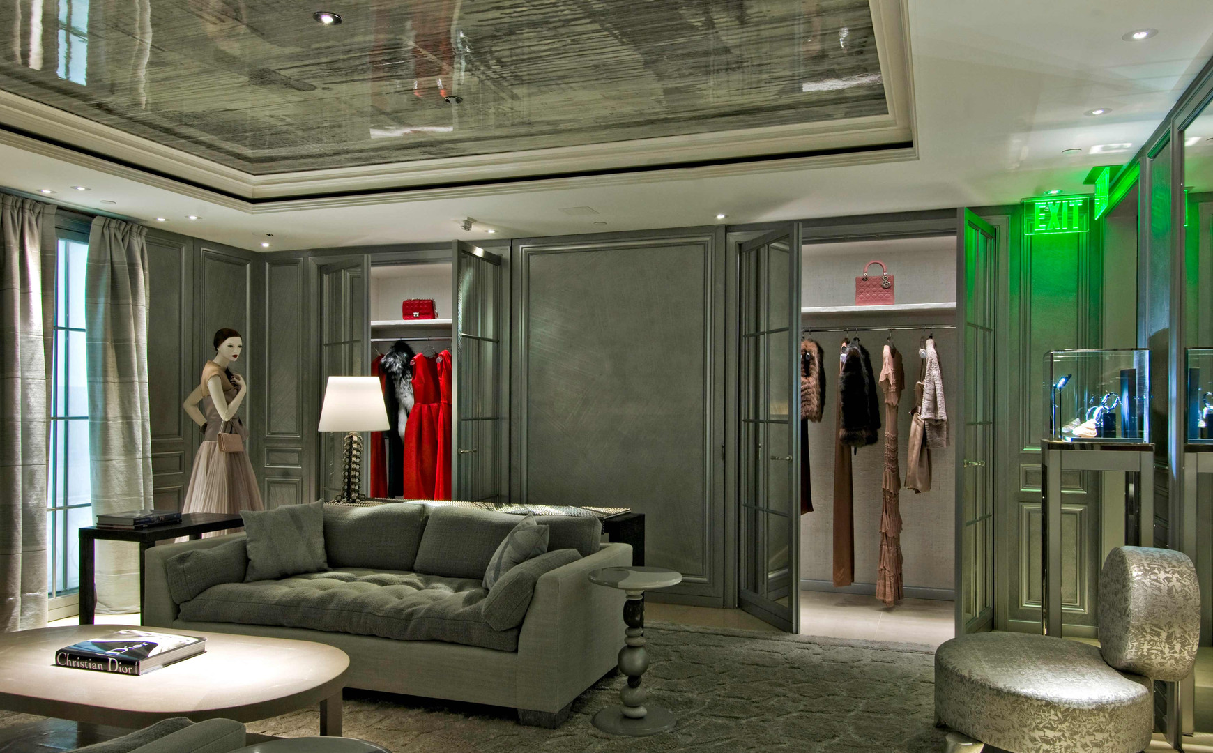 Beverly Hills Christian Dior Private Dressing Room