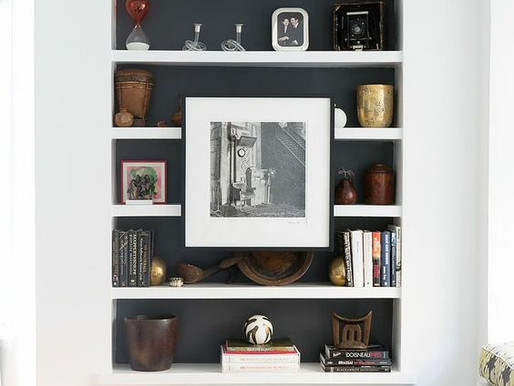 Ways to Style a Bookcase