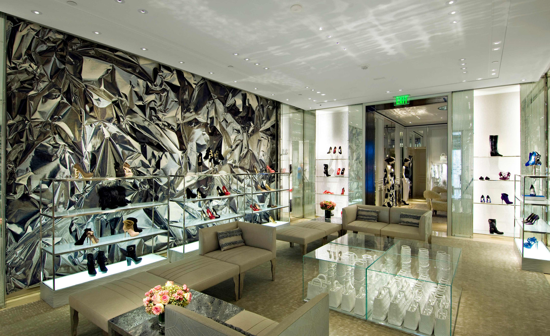 Dior Shoes Women's Store Rodeo Drive