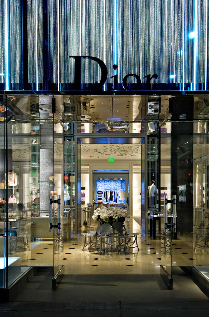 Christian Dior Rodeo Drive Beverly Hills