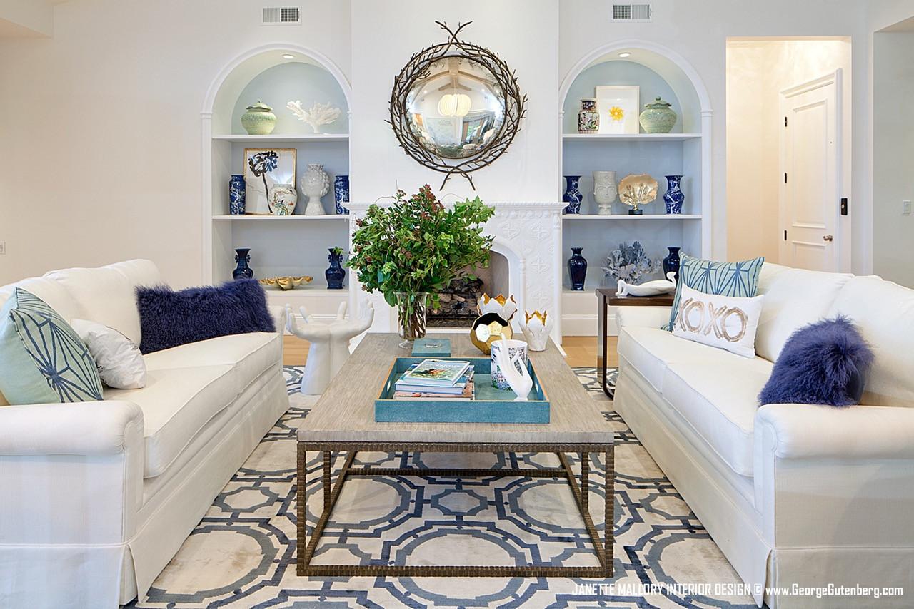 Malibu Beach House Living Room