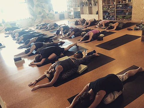 Thank you yogis it was an Omazing Friday
