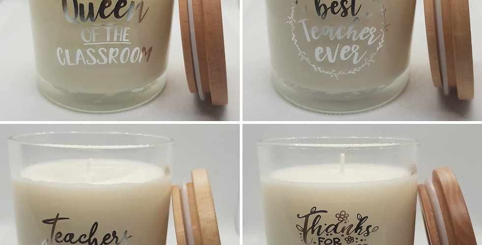 Teacher Gift Candle