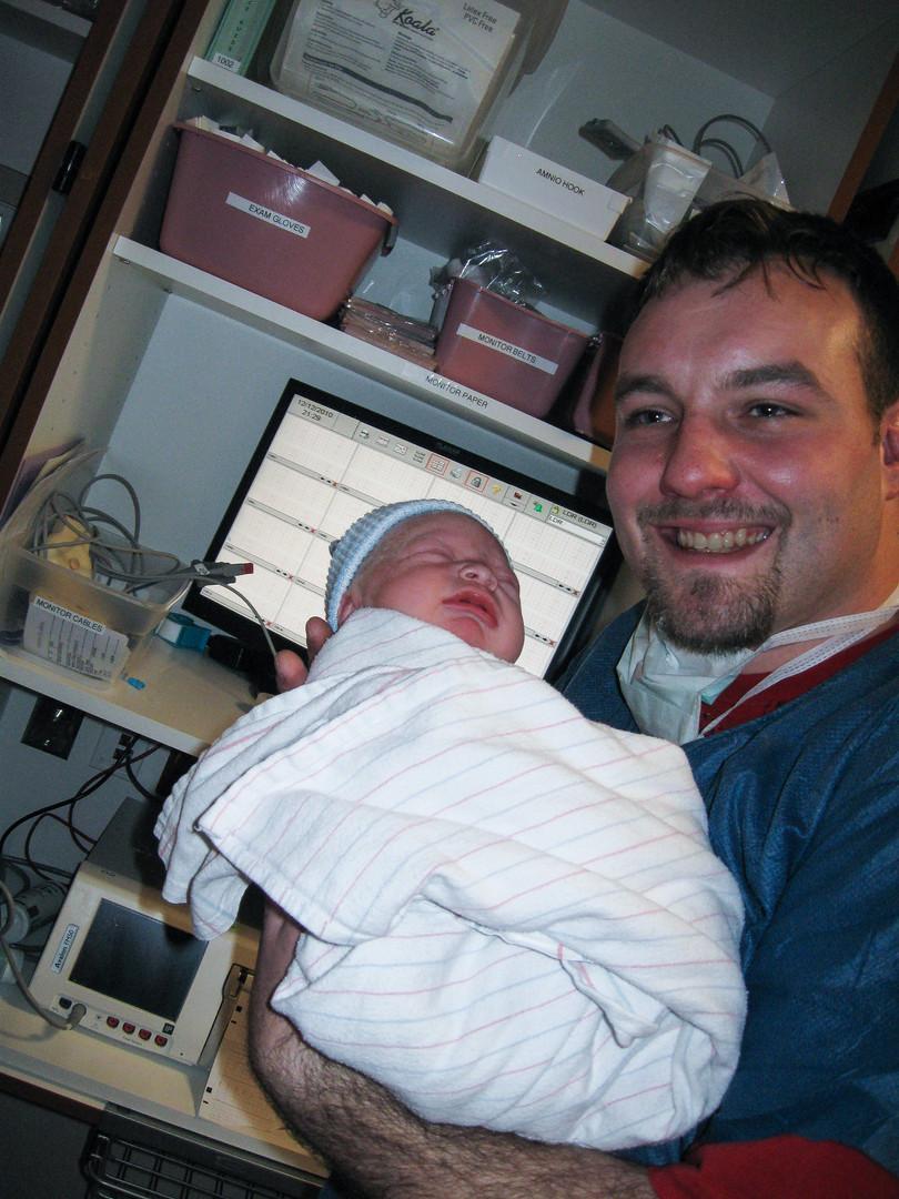 Daddy and Gavyn