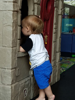 Jeremiah checking things out.72