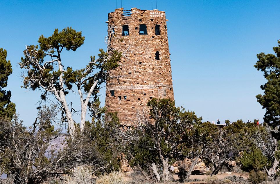 Tower at the Grand Canyon