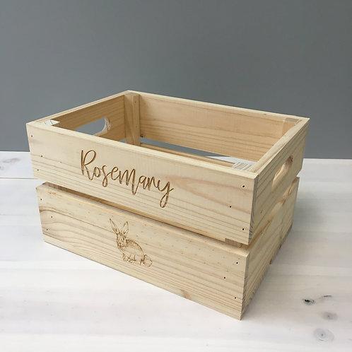 SMALL CUSTOM FRUIT BOX - RAW