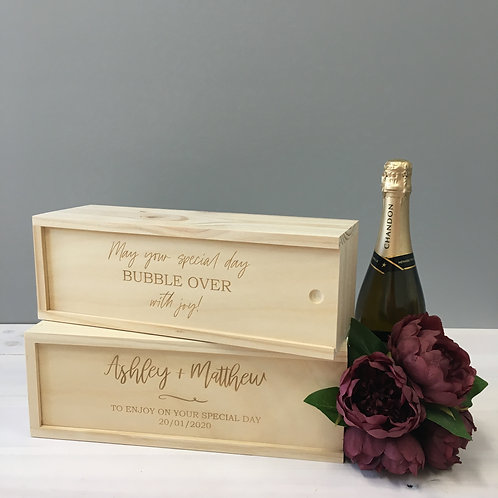 Custom Champagne Box