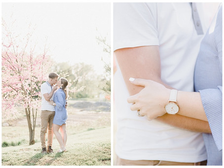 Allison & Mandel | An Overlook Park & President Ave Couples Session
