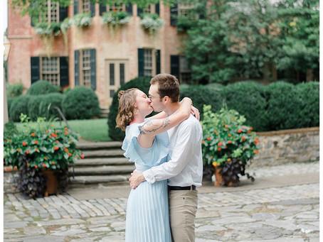 Max & Jenna | A Conestoga House & Gardens Engagement
