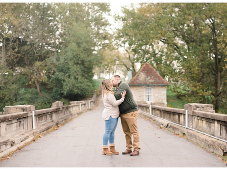 Kayla & Zach | An Autumn Gring's Mill Engagement
